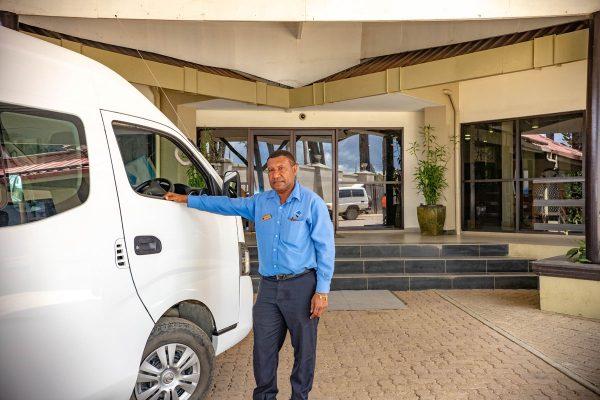 highlander hotel driver