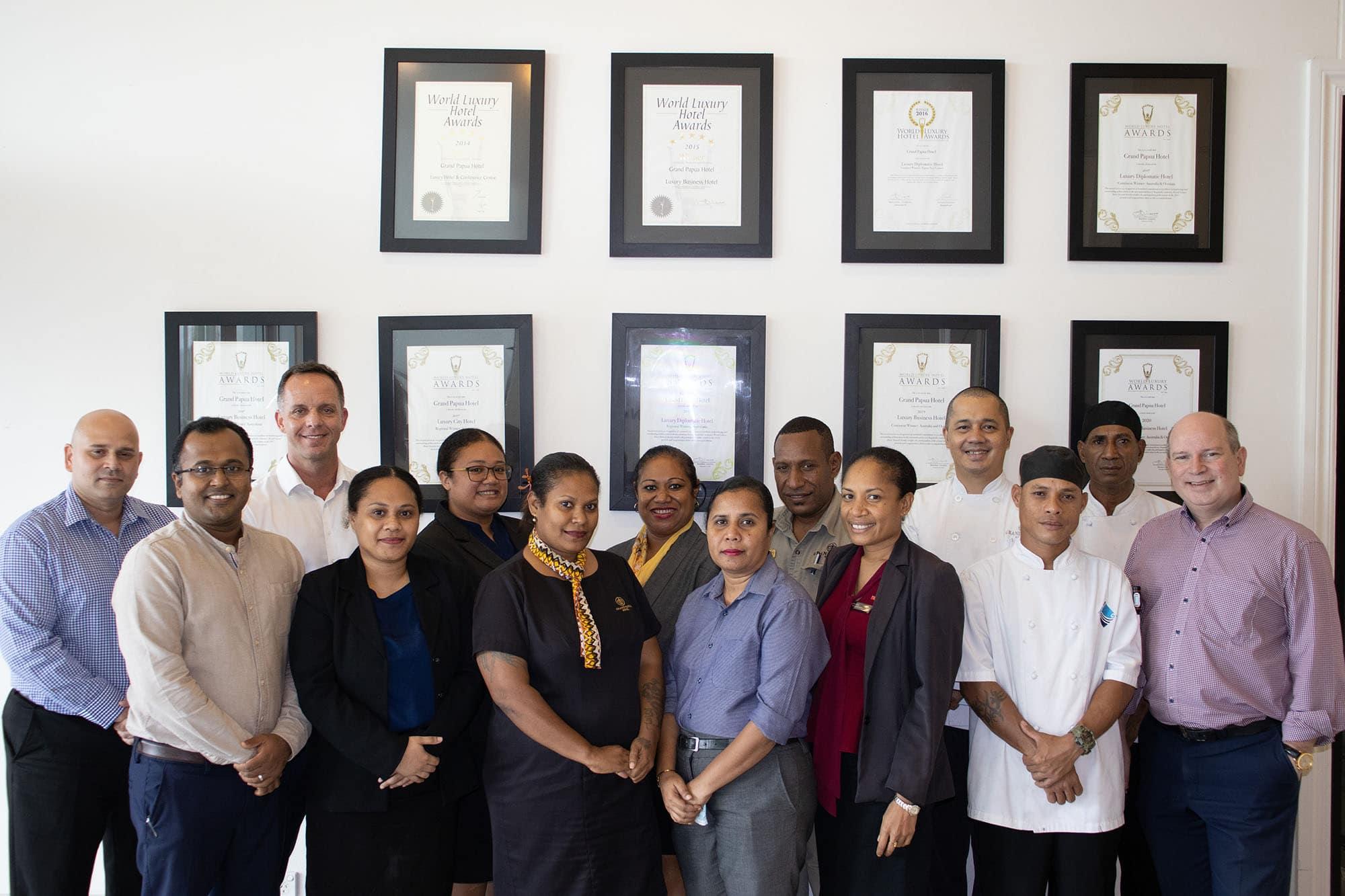 Grand Papua Hotel wins 2021 Luxury Awards